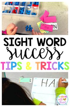 Are you an elementary school teacher looking for ways to increase sight word flu Teaching Sight Words, Sight Word Practice, Sight Word Games, Sight Word Activities, Classroom Activities, Classroom Ideas, Work Activities, Reading Activities, Reading Fluency