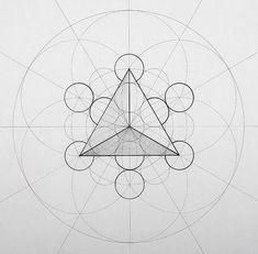 Geometric Drawing, Geometric Lines, Geometric Designs, Geometric Patterns, Sacred Geometry Patterns, Sacred Geometry Art, Tattoo Graphic, Math Art, Acrylic Canvas