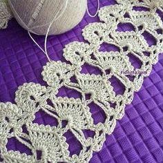 Captivating All About Crochet Ideas. Awe Inspiring All About Crochet Ideas. Crochet Flower Tutorial, Crochet Lace Edging, Crochet Doily Patterns, Crochet Borders, Crochet Art, Crochet Squares, Crochet Gifts, Vintage Crochet, Crochet Designs