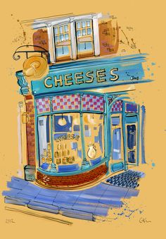 Cheese Shop, Muswell Hill, 2012
