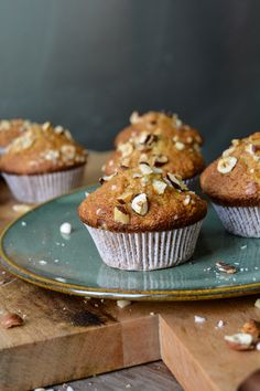 Carrot and Pineapple Muffins with Hazelnuts ° eat in my kitchen | Meike Peters