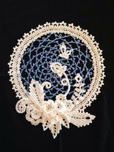 Sunny Wesling http://www.anniescatalog.com/detail.html?prod_id=103279 Irish Crochet Sampler Doily www.anniescatalog.com