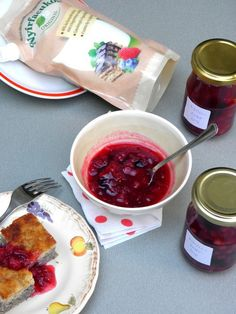 Ribizliöntet nyírfacukorral recept Fresh Rolls, Pudding, Eat, Ethnic Recipes, Inspiration, Food, Biblical Inspiration, Essen, Puddings