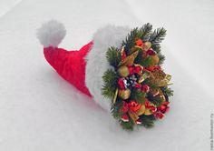 Шапка гнома новорічна, солодка
