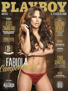 Fabiola Campomanes Playboy México Octubre 2013 [PDF Digital] | FamosasMex