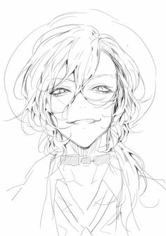 Bungou stray dogs에 있는 connor_the_toaster님의 핀 - 2019 anime ze Anime Drawings Sketches, Anime Sketch, Manga Drawing, Manga Art, Manga Anime, Anime Art, Art Drawings, Drawing Reference Poses, Drawing Poses