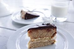 Banana Birthday Cake with Cream Cheese and Chocolate Frosting — The Naked Fig