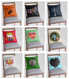 Decorate your nerd cave with these pop culture pillows!