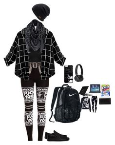 """""""Untitled #64"""" by darkhorror0666 on Polyvore featuring Burberry, Vans, NIKE, Coal, Speck, Master & Dynamic, ZAGG and Christian Louboutin"""