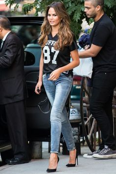 Chrissy in New York City on Oct. 16, 2014.   - Cosmopolitan.com