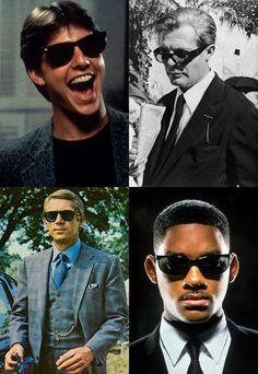 Las mejores gafas de sol del cine - Red Social Gay