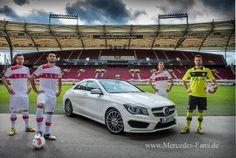 Bundesliga-Kicker liegt Mercedes CLA am Herzen