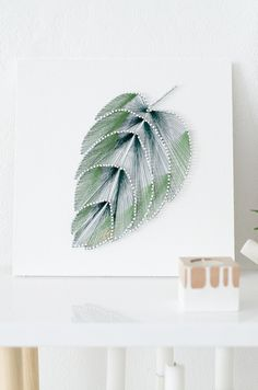 diy botanical string art