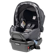 Peg Perego - Primo Viaggio Car Seat w Back Seat Mirror - Pois Grey. For babies 4 to 35 lbs. and up to tall. Includes base with ?Right Tight System? This kit includes a Back Seat Mirror. Siege Bebe, Peg Perego, Agatha, Car Upholstery, Travel System, Baby Center, Prams, Baby Safe, Back Seat