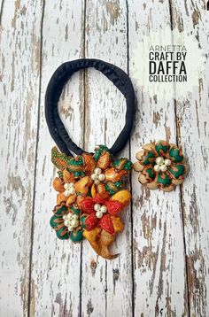 Picture Craft, Crafts With Pictures, Crochet Earrings, Wreaths, Halloween, Fall, Diy, Jewelry, Decor