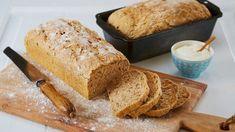 Grovt Brød Med Kesam® - Oppskrift fra TINE Kjøkken Our Daily Bread, Cornbread, Nom Nom, Tin, Rolls, Food And Drink, Dessert, Snacks, Baking