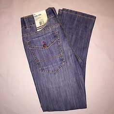 Boys Tommy Hilfiger Rebel Skinny Fit Jeans Nwt