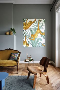 Bright colours, eye-catching prints and subtle details make every creation from Creative Lab Amsterdam the perfect piece of art for your home. Let's create an Urban Jungle in your interior with these amazing botanical illustrations! Decor, Interior Decorating, Interior, Decor Interior Design, Home Decor, Pretty Decor, Modern Interior Design, Urban Interiors, Modern Wall Decor