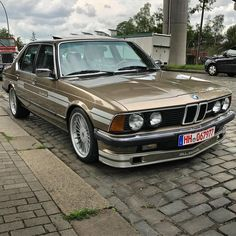 Classic Car News Pics And Videos From Around The World Classic European Cars, Bmw Classic Cars, Bmw E28, Bmw Alpina, Audi Cars, Audi Tt, Mercedes Benz Coupe, Bmw Vintage, Bmw 2002