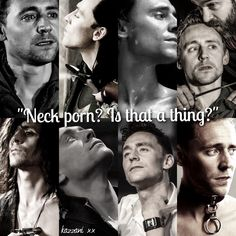 Oh yes, my dear. It's a thing. With Tom Hiddleston, it's definitely 'A THING'.
