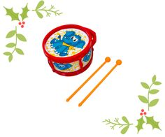 #christmas #gifting #simbatoys #drums #gifts #colorful #musical #elephant #cute