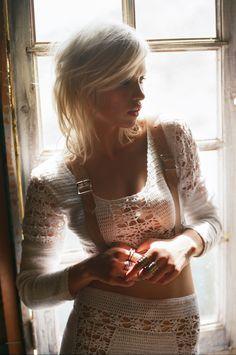 Nasty Gal - Dawn Crochet Top + Skirt