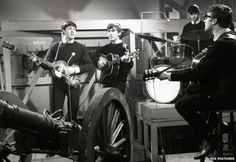Image result for beatles performing