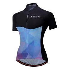 2017 Cycling Clothing Sport Cycling Jerseys Bike Bicycle Cycling Clothing  Cycling Jersey Womens Black Blue   dbd8b6f1a
