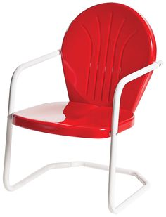 This stylish bulk Retro Bellaire Heavy Duty Metal Lawn Chair is made of high quality materials. Buy it now or choose another chair from Restaurant Furniture Plus store. Metal Lawn Chairs, Metal Outdoor Chairs, Patio Chairs, Rattan Chairs, Blue Chairs, Adirondack Chairs, Outdoor Spaces, Lawn Furniture, Furniture Sets