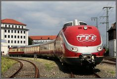 The Royal Danish railroad company had them for Blitzer zug they were in silver paint