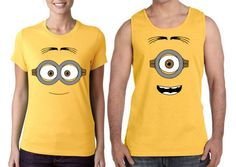 Minions T shirts by ParodyPrints on Etsy