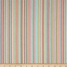 Riley Blake Summer Breeze Flannel Stripe Multi