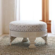 Custom Upholstered Chakki in Designer Fabrics   Serena & Lily