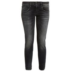 R13 Boy Skinny low-rise jeans ($172) ❤ liked on Polyvore featuring jeans, black, rock and roll jeans, stripe jeans, low rise jeans, skinny fit jeans and super low rise skinny jeans