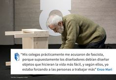Frases: Enzo Mari y el diseño,