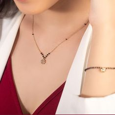 """Hello buddies, welcome back to Ani Exclusive. Today we bring to you """"CLASSY NECKLACE FOR LADIES."""" These necklace are so beautiful and alluring. Modern Mangalsutra Designs, Mangalsutra Bracelet, Gold Jewelry Simple, Diy Jewelry, Indian Wedding Jewelry, Gold Jewellery Design, Necklace Designs, Fashion Jewelry, Nike"""