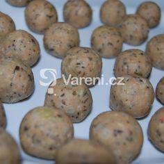 Strouhankové knedlíčky do polévky recept - Vareni.cz Muffin, Potatoes, Cookies, Vegetables, Breakfast, Desserts, Food, Crack Crackers, Morning Coffee