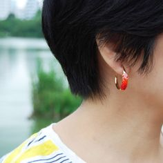earrings by Helena Rohner