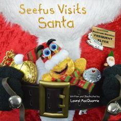 Visit Santa, Slug, Childrens Books, Christmas Stockings, Holiday Decor, Home Decor, Children's Books, Needlepoint Christmas Stockings, Decoration Home