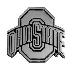 7eab39391b7 Amazon.com: FANMATS NCAA Ohio State University Buckeyes Chrome Team Emblem:  Automotive