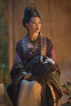 Ola's imaginary cast Joan Chen (who is of Chinese origin, but somehow got into my head as a perfect candidate) for Queen Silar of Algaria