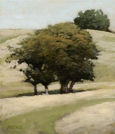 Bohne Available Oil Landscape Paintings page 3 Contemporary Landscape, Landscape Art, Landscape Paintings, Guache, Paintings I Love, Tree Paintings, Arte Floral, Tree Art, Art Oil