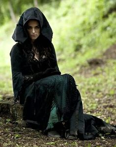 From Ancient Celts fb page - Morgaine from Merlin tv show