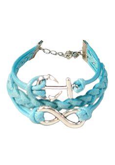 Anchor & Infinity Braided Bracelet