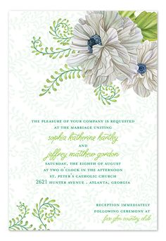 Twisted Vines - Wedding Invitations by Invitation Consultants. (IC-GD-NT-22 )