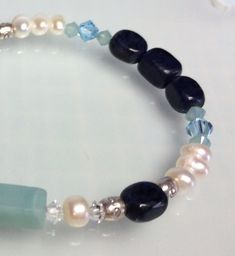 Gemstone Bracelet by joolrylane on Etsy