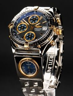 Spring drive is a new movement utilized in watches. It was established by Seiko Epson and is now utilized in Seiko Spring drive watches. Amazing Watches, Best Watches For Men, Luxury Watches For Men, Cool Watches, Breitling Chronomat, Breitling Watches, Patek Watches, Gold Diamond Watches, Skeleton Watches