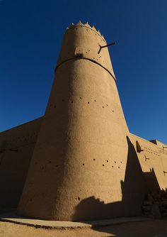 Al Musmak Castle in Riyadh - Saudi Arabia by Eric Lafforgue on Flickr.
