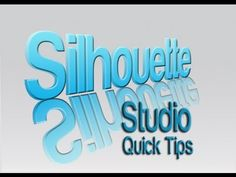 ▶ Silhouette Studio Tutorial - Quick Tips - YouTube