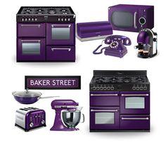 purple stove | Colour Trends - Purple Range Cookers | Colours | Range Cooker News